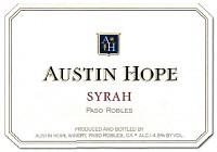 Austin Hope Syrah Hope Family Vineyard